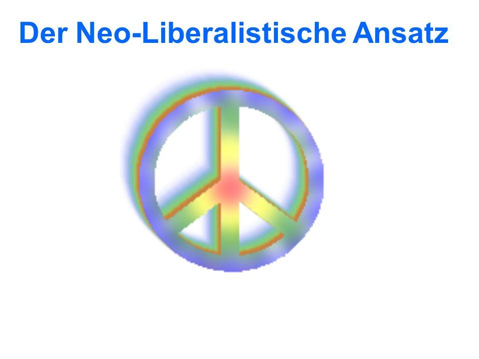 Der Neo-Liberalistische Ansatz