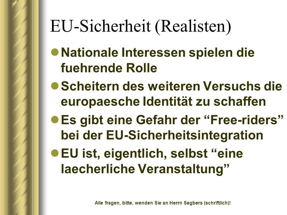 EU-Sicherheit (Realisten)