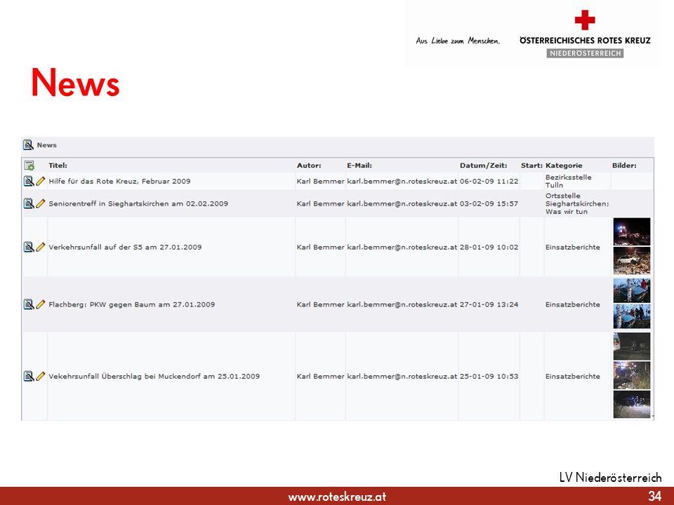 News LV Niederösterreich