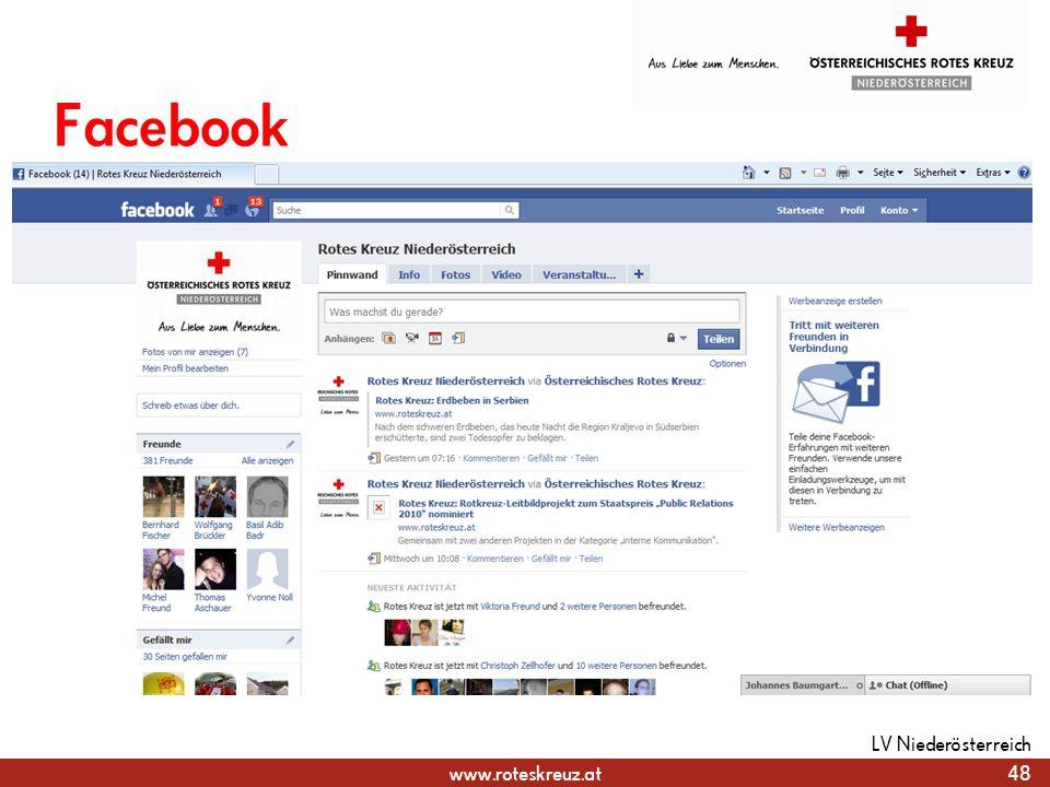 Facebook LV Niederösterreich