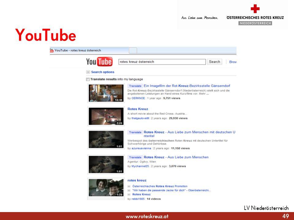 YouTube LV Niederösterreich