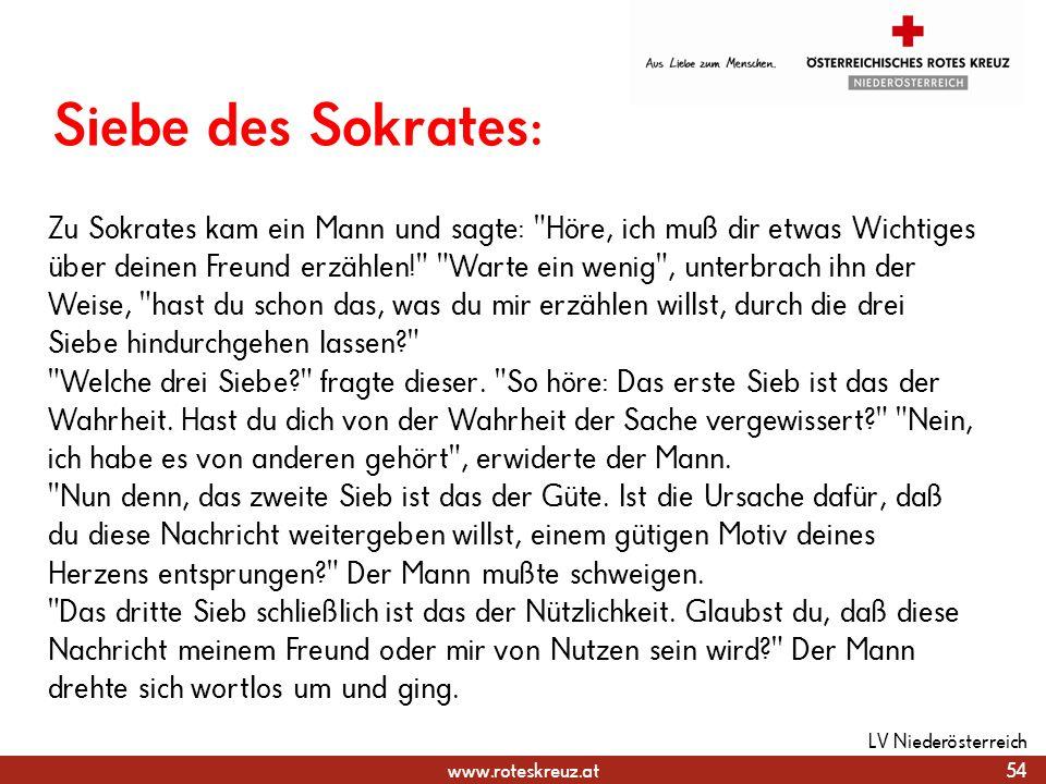 31.03.2017 Siebe des Sokrates: