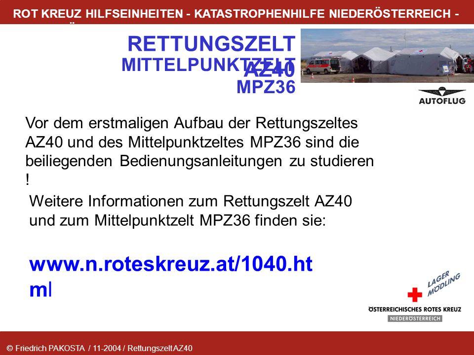 www.n.roteskreuz.at/1040.html MITTELPUNKTZELT MPZ36