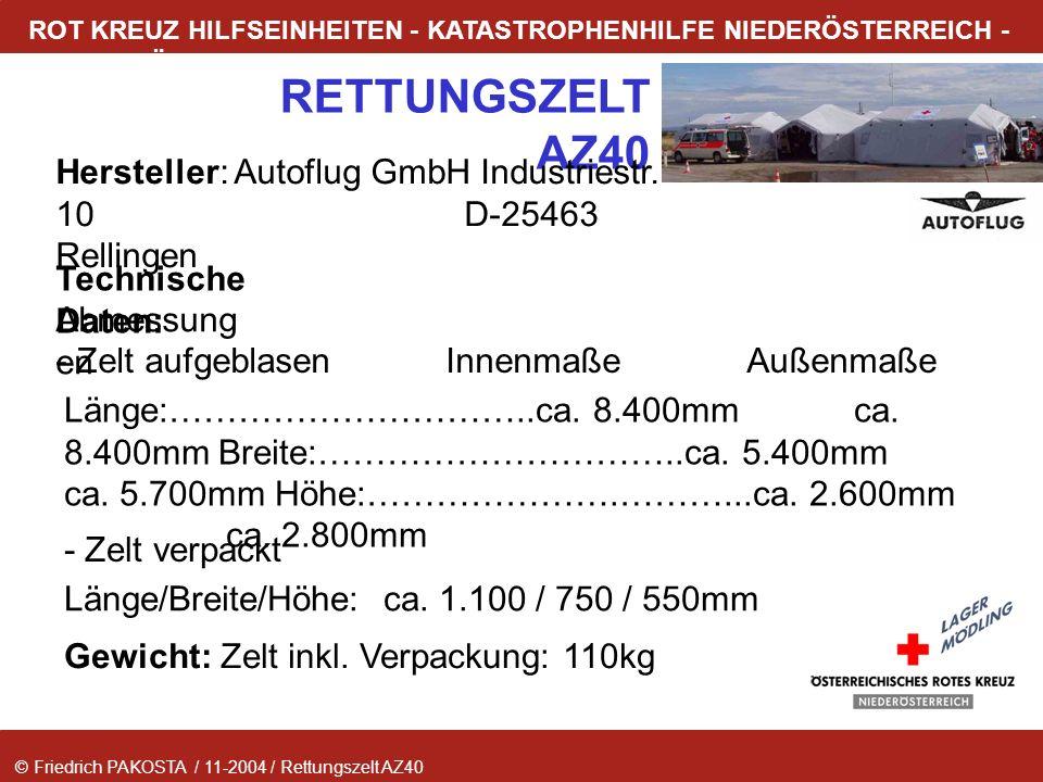 Hersteller: Autoflug GmbH Industriestr. 10 D-25463 Rellingen