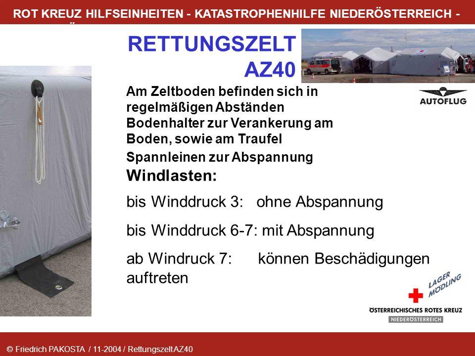 bis Winddruck 3: ohne Abspannung bis Winddruck 6-7: mit Abspannung