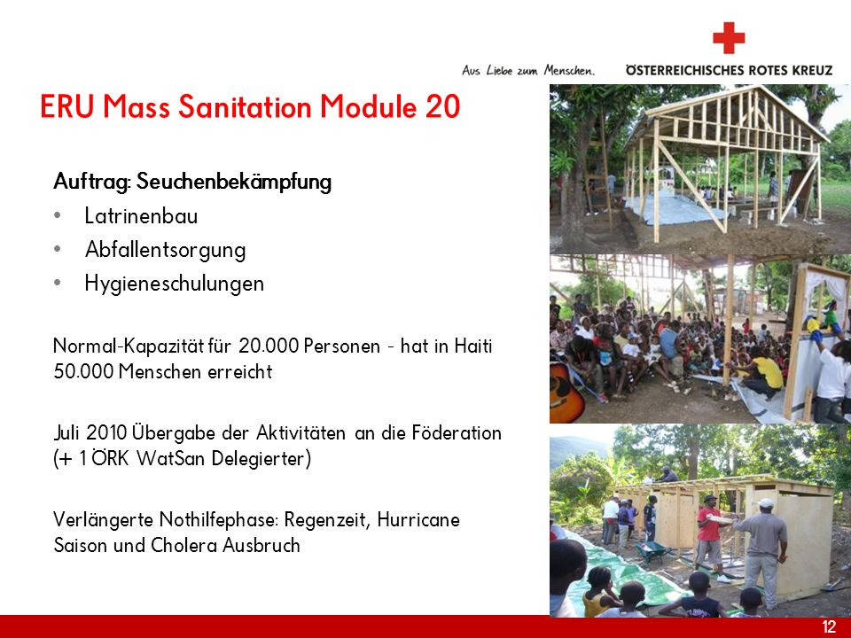 ERU Mass Sanitation Module 20
