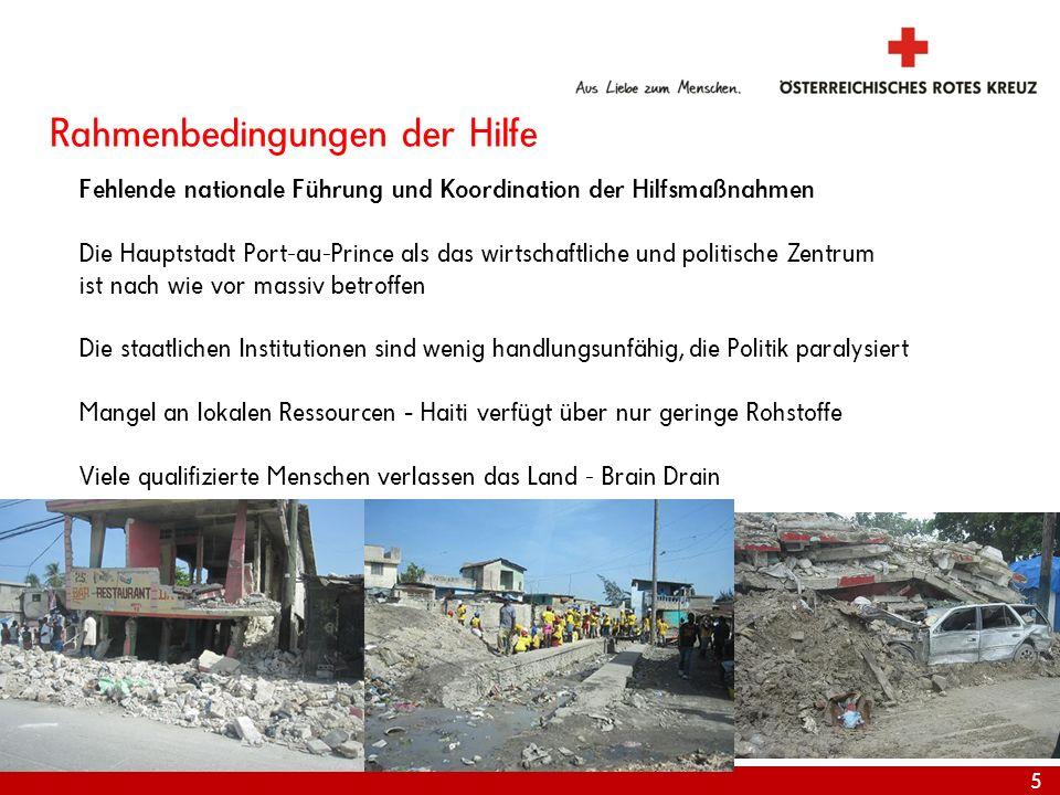 Rahmenbedingungen der Hilfe