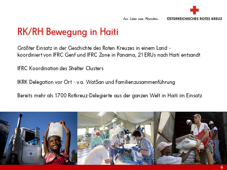 RK/RH Bewegung in Haiti