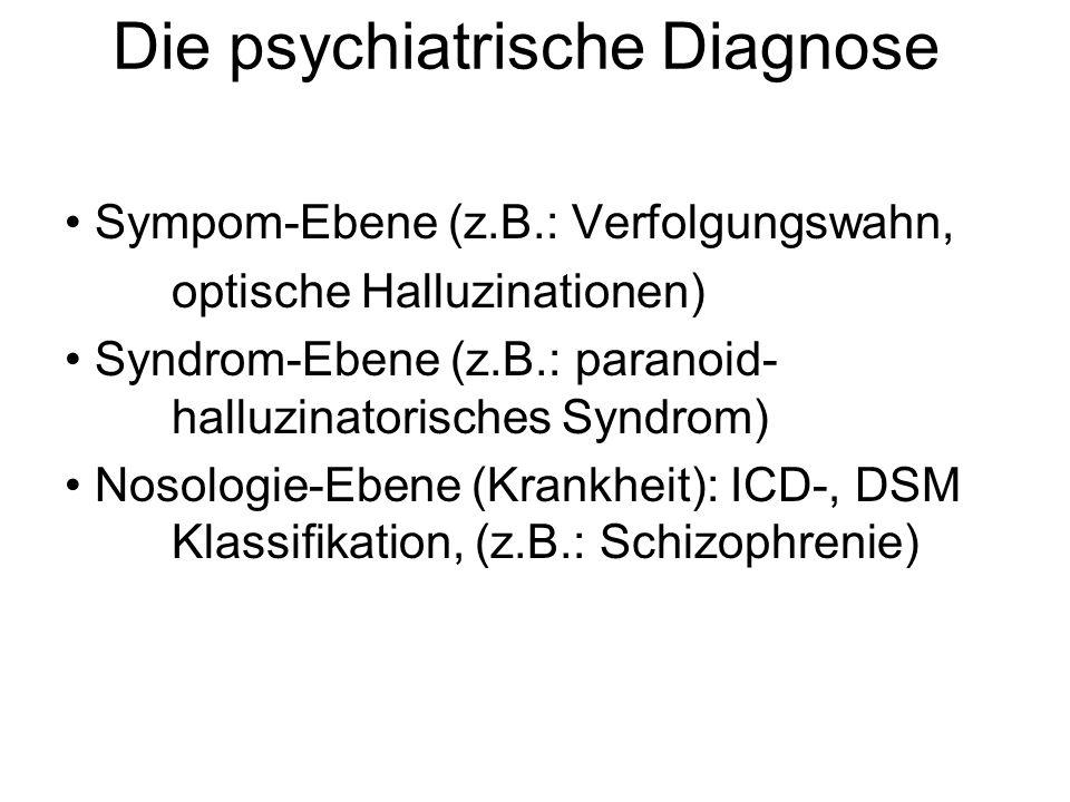 Die psychiatrische Diagnose