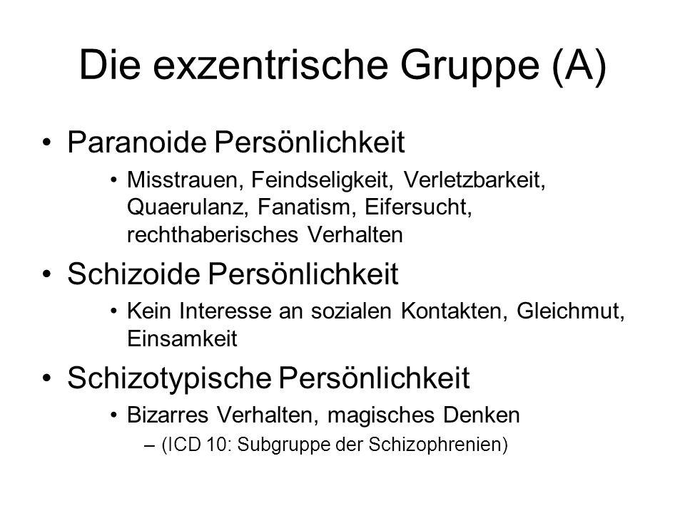 Die exzentrische Gruppe (A)