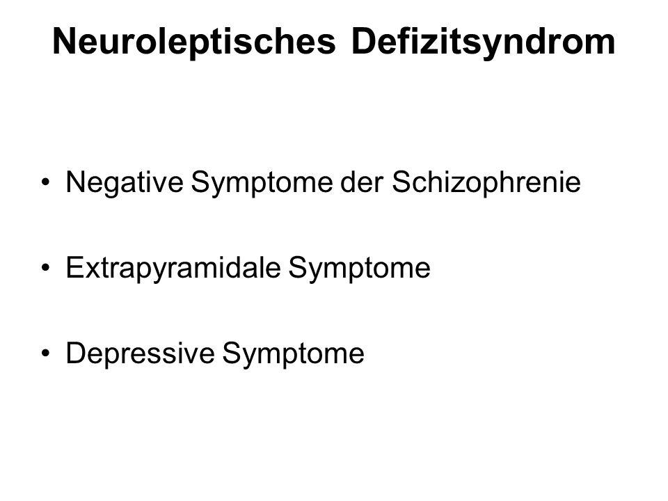 Neuroleptisches Defizitsyndrom