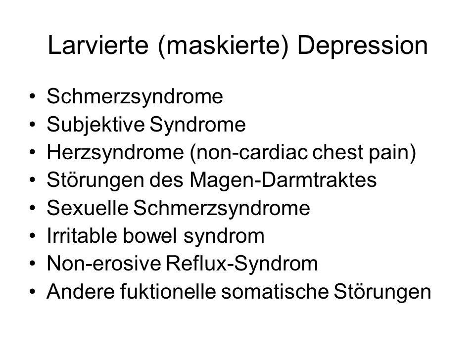 Larvierte (maskierte) Depression
