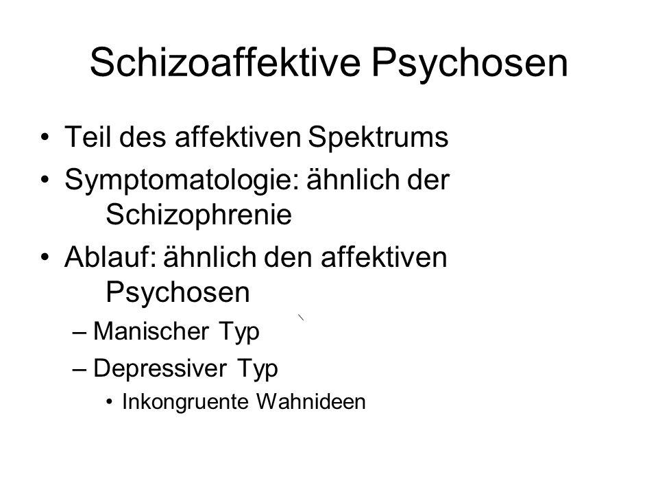 Schizoaffektive Psychosen
