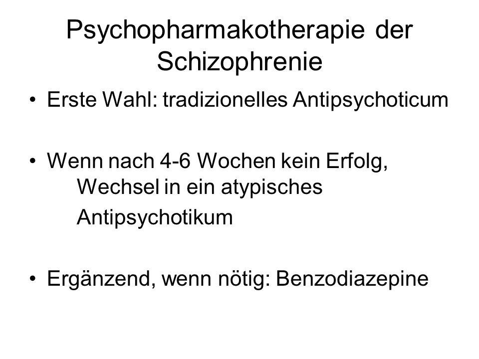 Psychopharmakotherapie der Schizophrenie