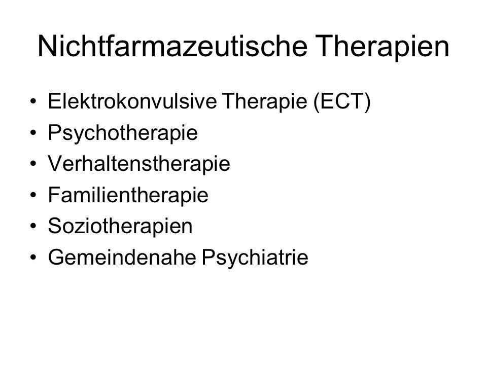Nichtfarmazeutische Therapien