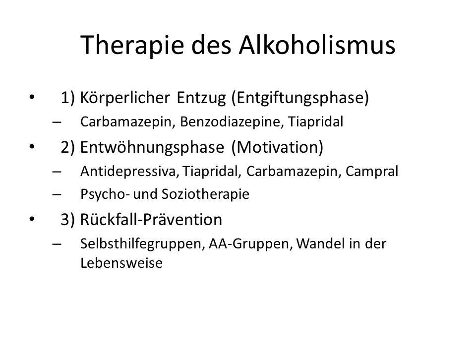 Therapie des Alkoholismus