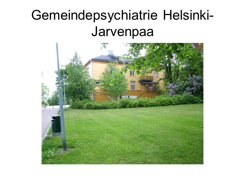 Gemeindepsychiatrie Helsinki-Jarvenpaa
