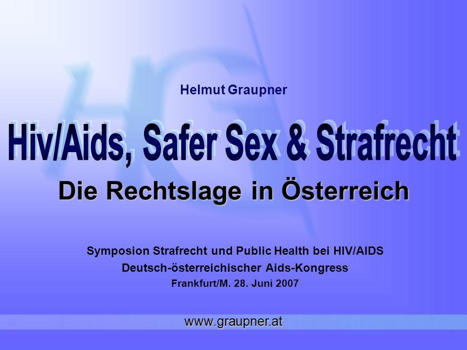 Die Rechtslage in Österreich