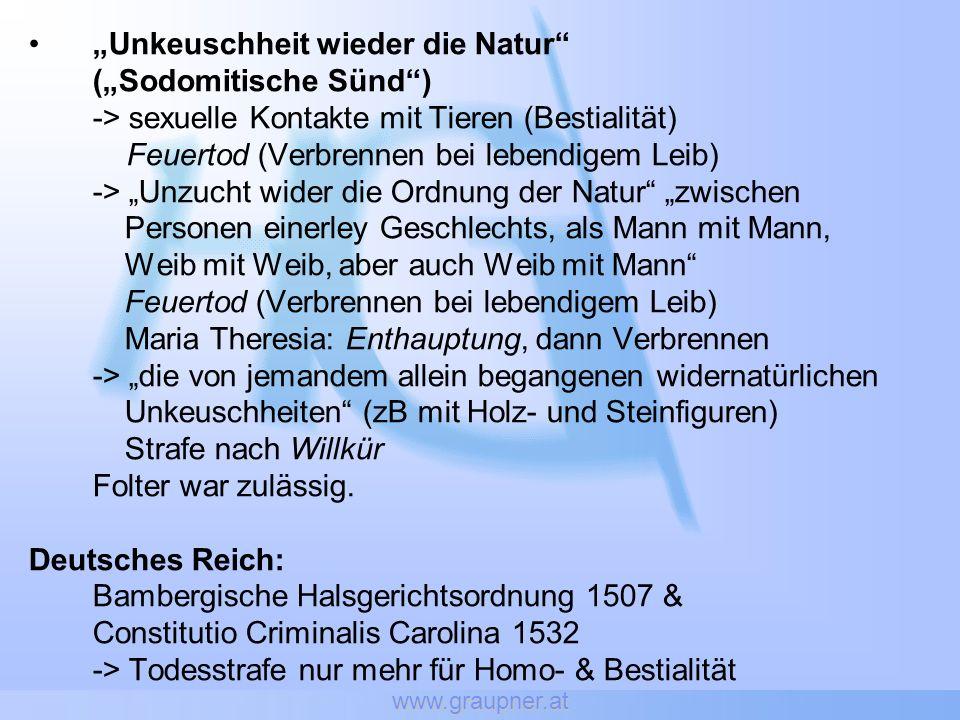 """""""Unkeuschheit wieder die Natur (""""Sodomitische Sünd )"""