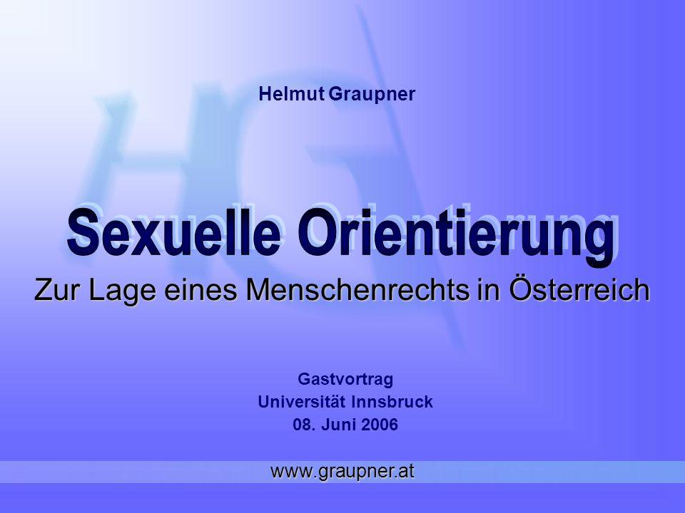 Zur Lage eines Menschenrechts in Österreich
