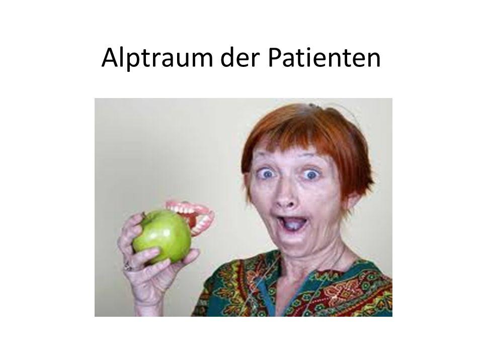 Alptraum der Patienten