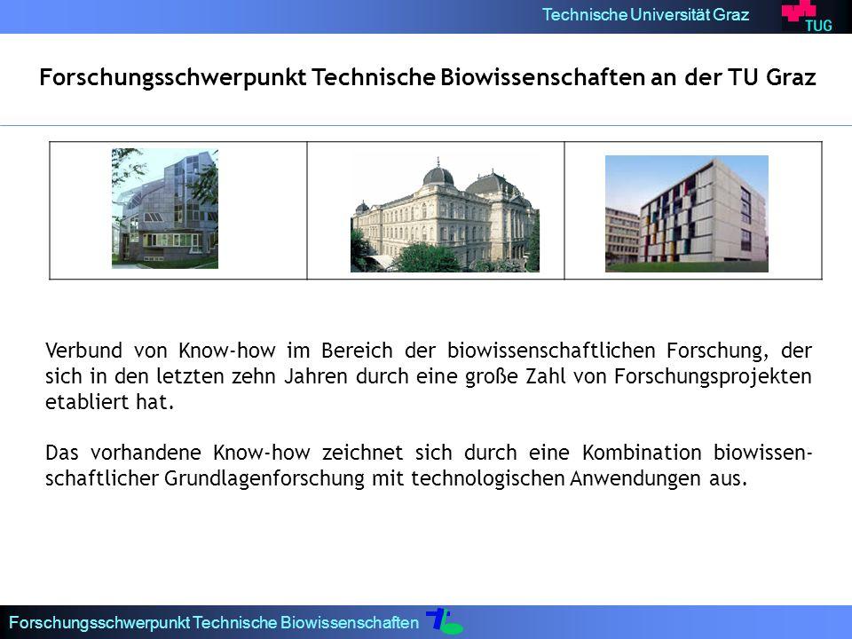 Forschungsschwerpunkt Technische Biowissenschaften an der TU Graz