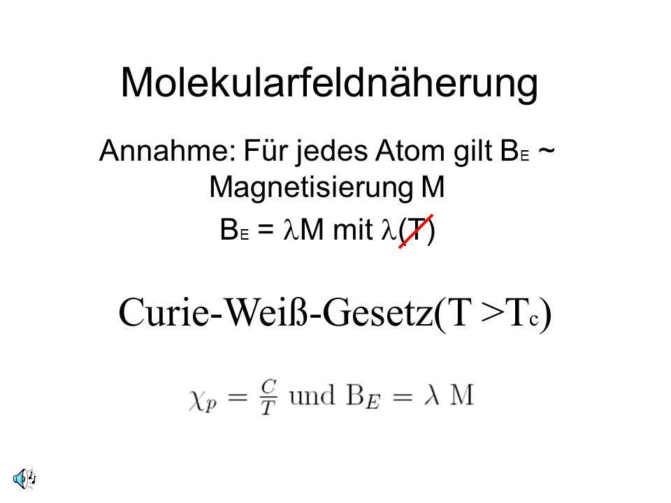 Molekularfeldnäherung