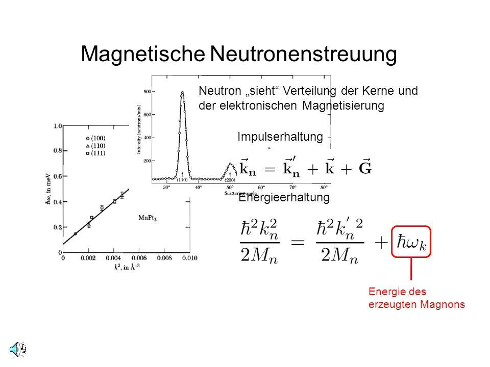 Magnetische Neutronenstreuung