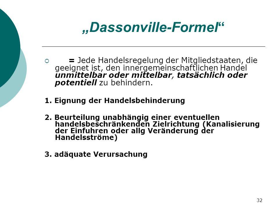 """""""Dassonville-Formel"""