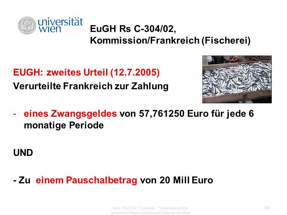 EuGH Rs C-304/02, Kommission/Frankreich (Fischerei)