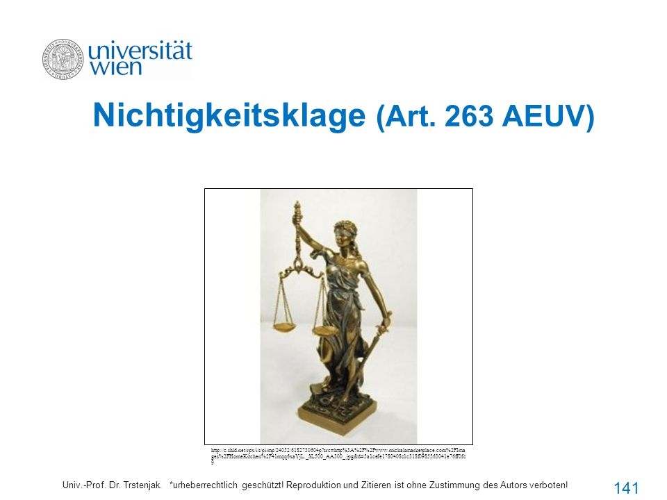 Nichtigkeitsklage (Art. 263 AEUV)