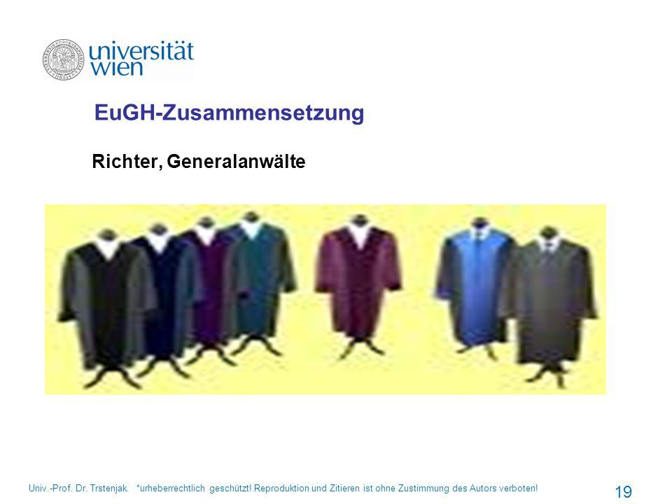 EuGH-Zusammensetzung