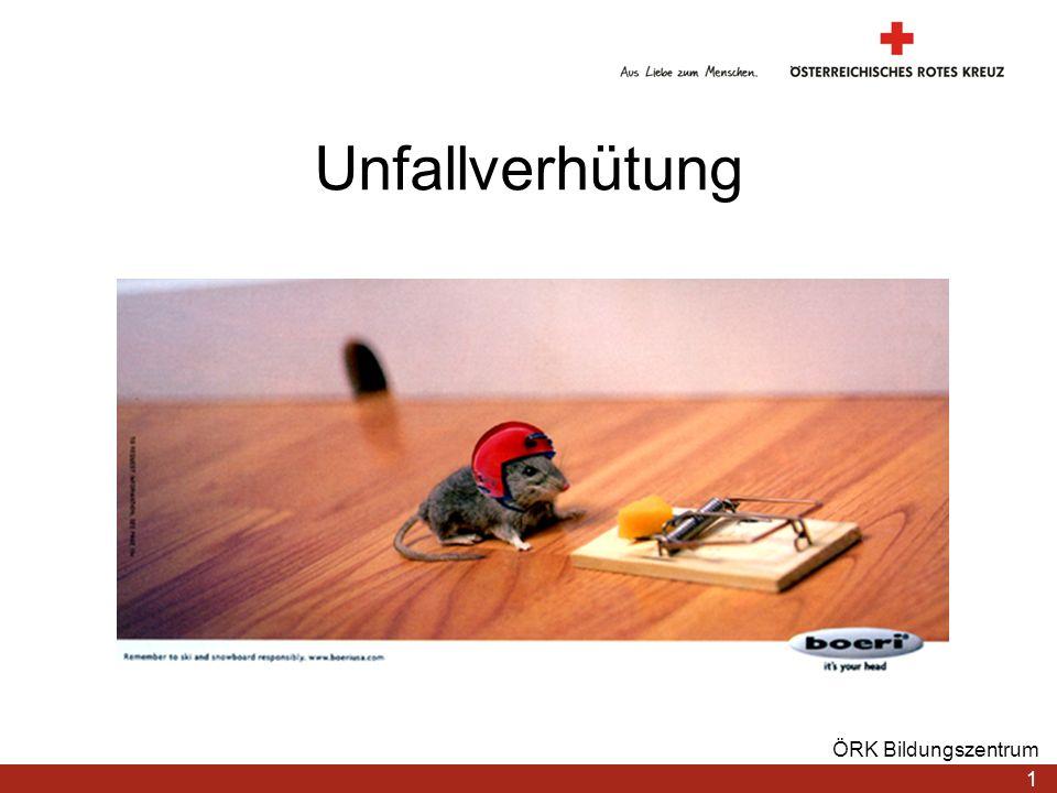 Unfallverhütung ÖRK Bildungszentrum