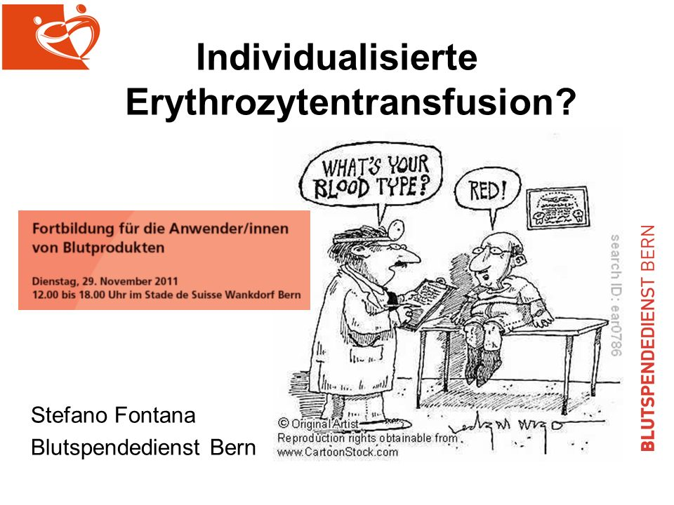 Individualisierte Erythrozytentransfusion
