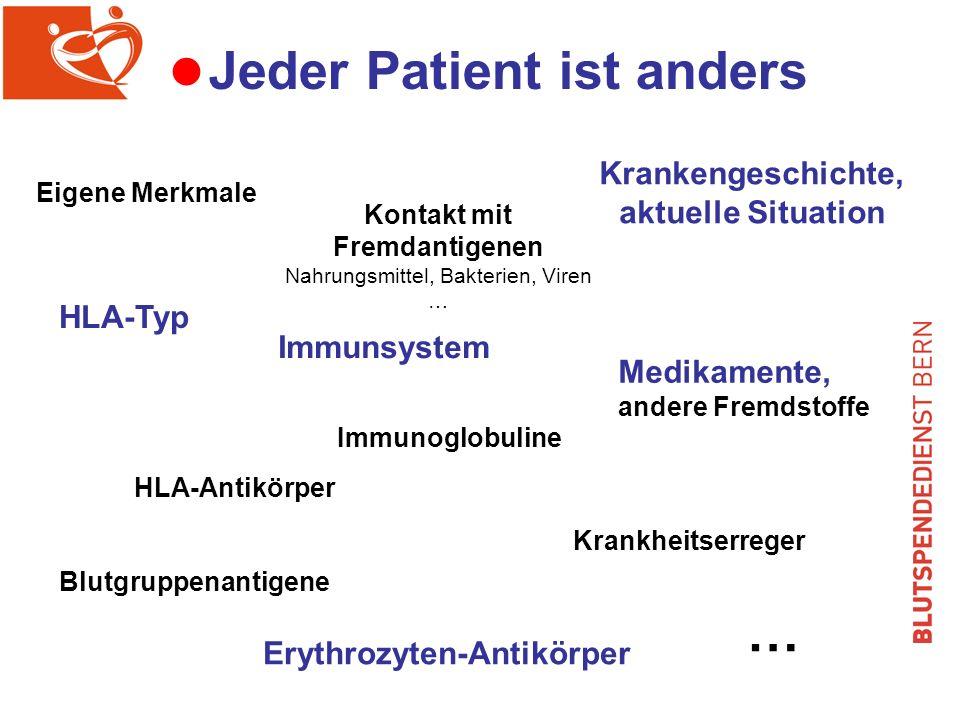 Jeder Patient ist anders