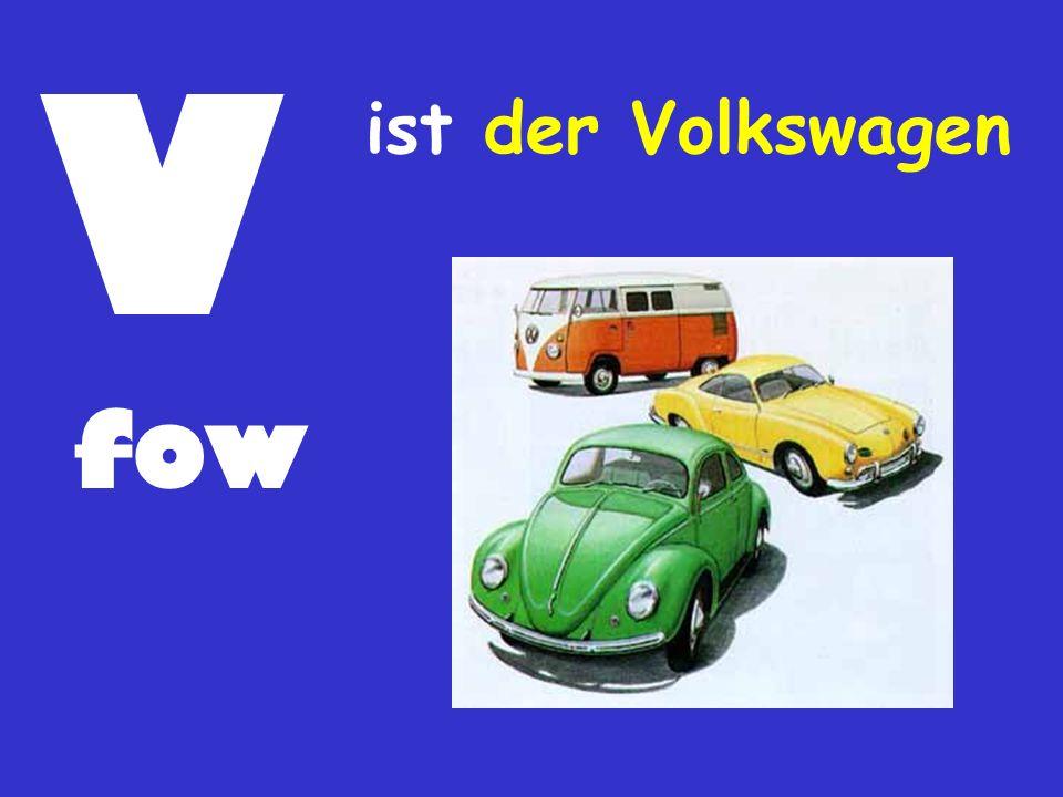 V ist der Volkswagen fow