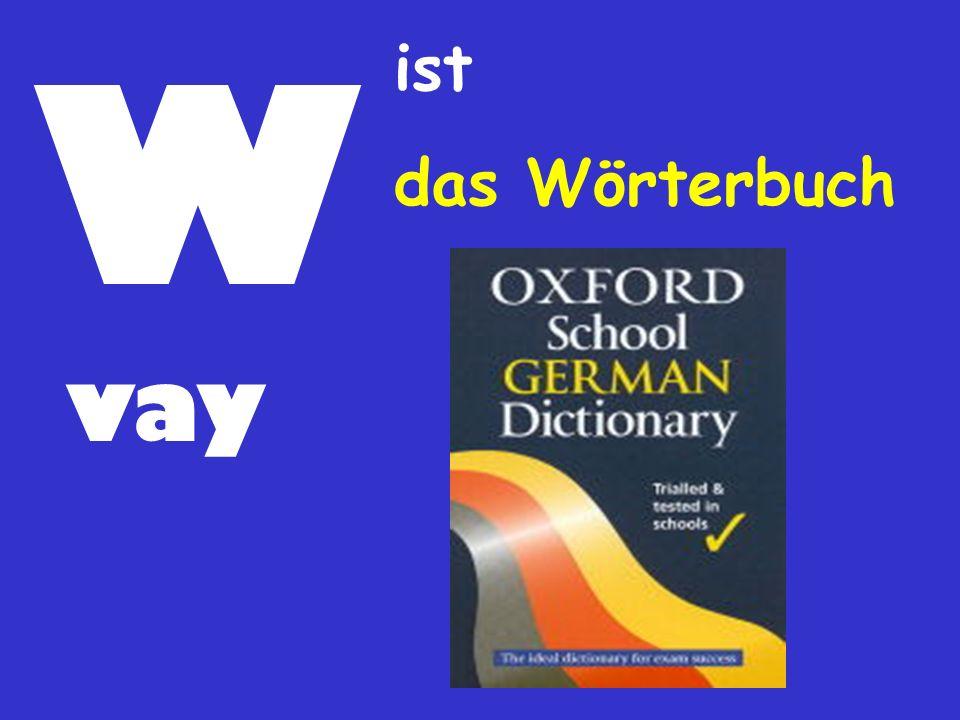 W ist das Wörterbuch vay