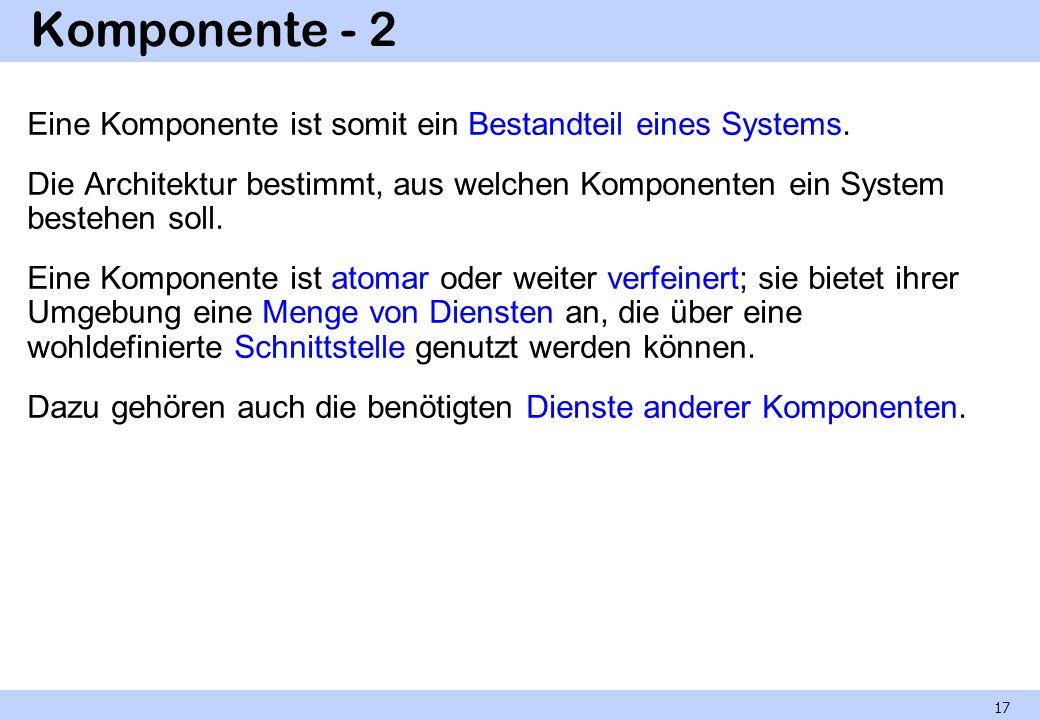 Komponente - 2
