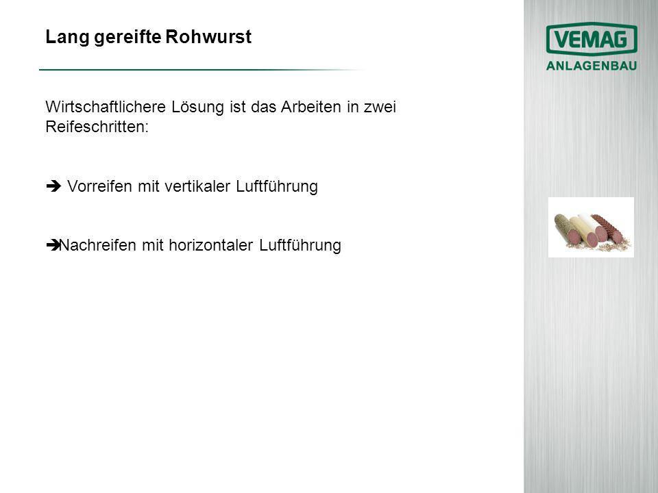 Lang gereifte Rohwurst