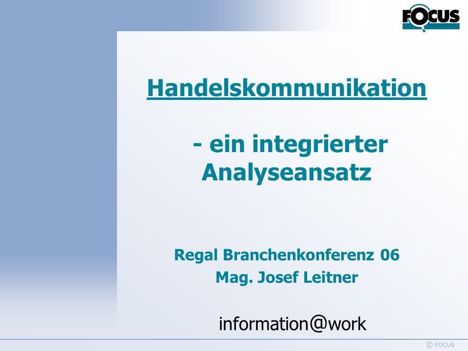 Handelskommunikation - ein integrierter Analyseansatz