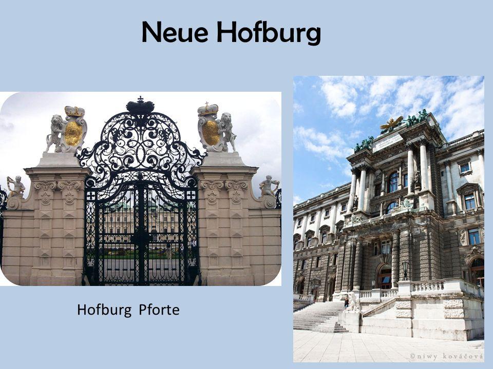 Neue Hofburg Hofburg Pforte