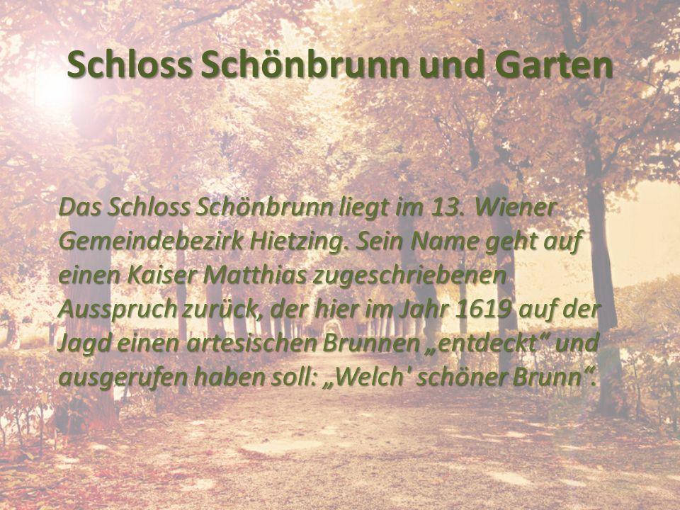 Schloss Schönbrunn und Garten