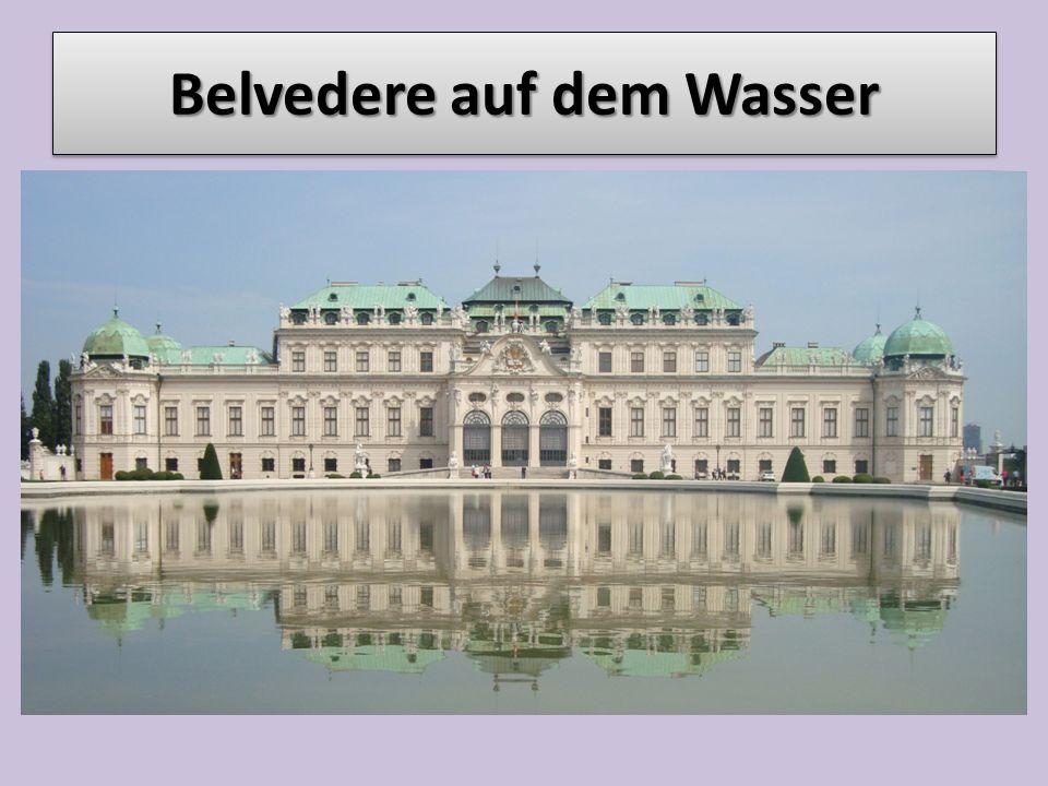 Belvedere auf dem Wasser
