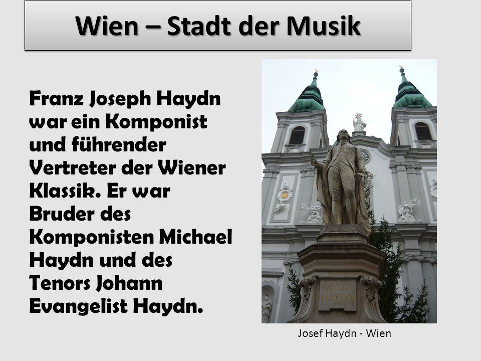 Wien – Stadt der Musik