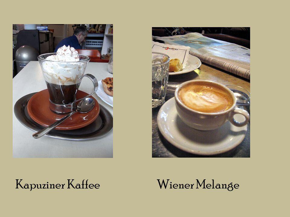 Kapuziner Kaffee Wiener Melange