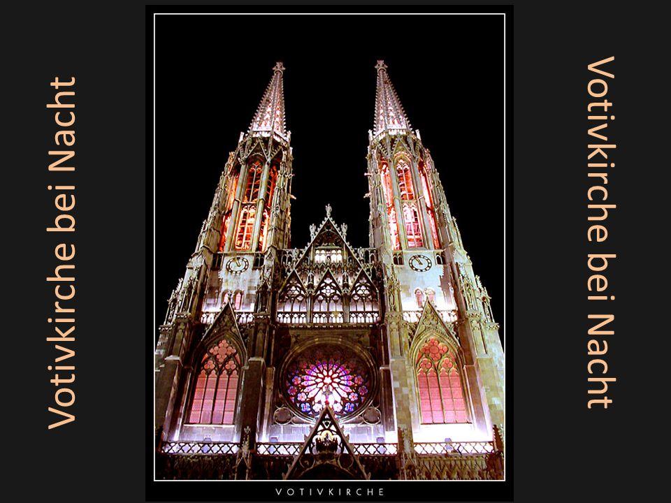 Votivkirche bei Nacht Votivkirche bei Nacht