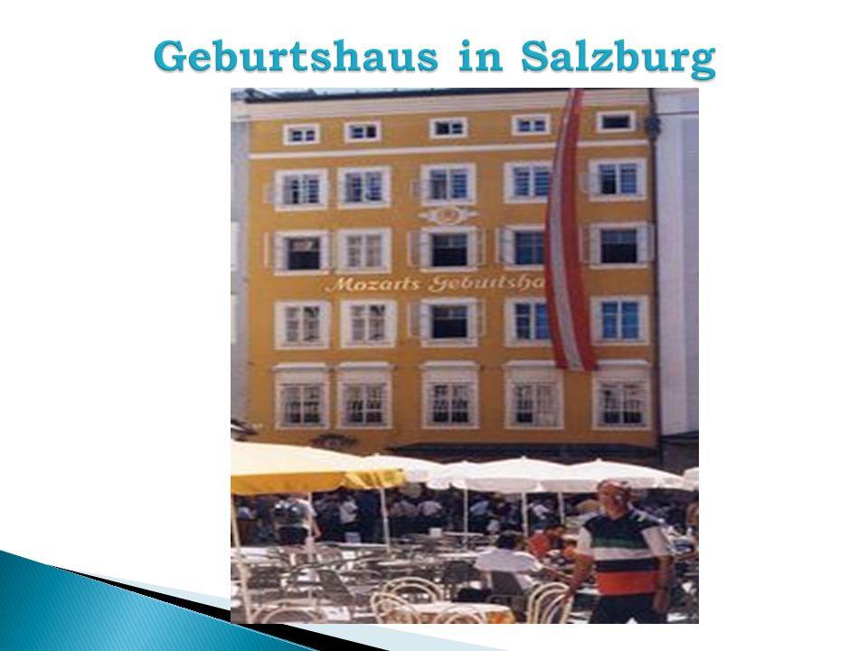 Geburtshaus in Salzburg