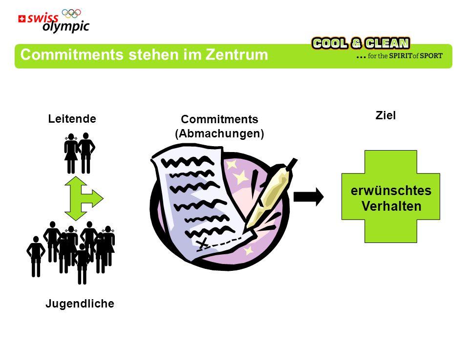 Commitments stehen im Zentrum