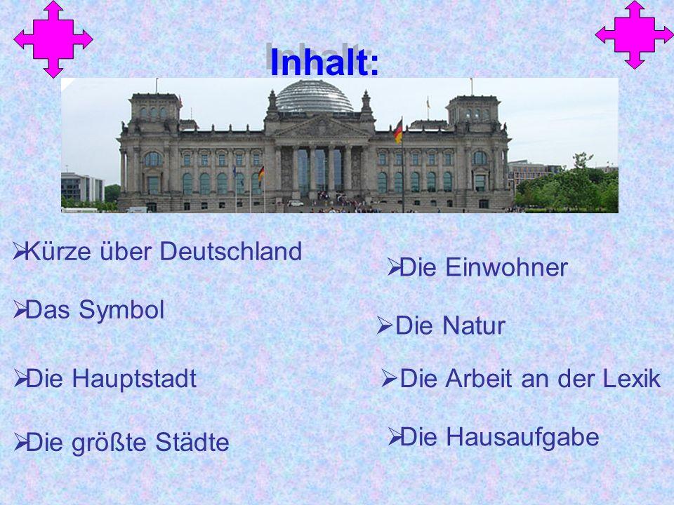 Kürze über Deutschland