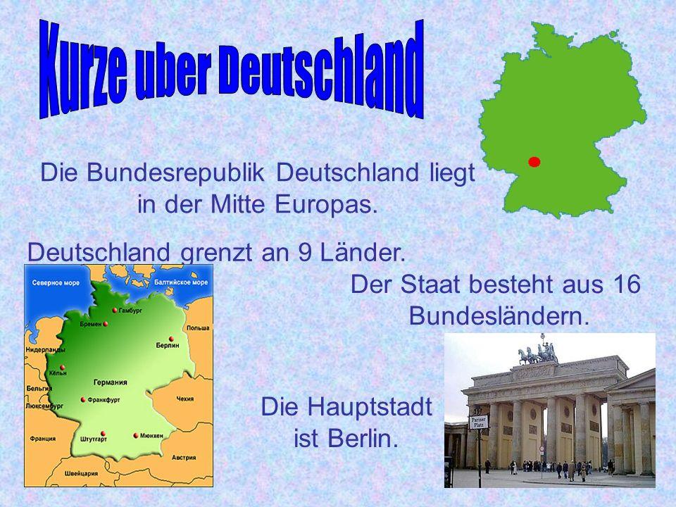 Kurze uber Deutschland